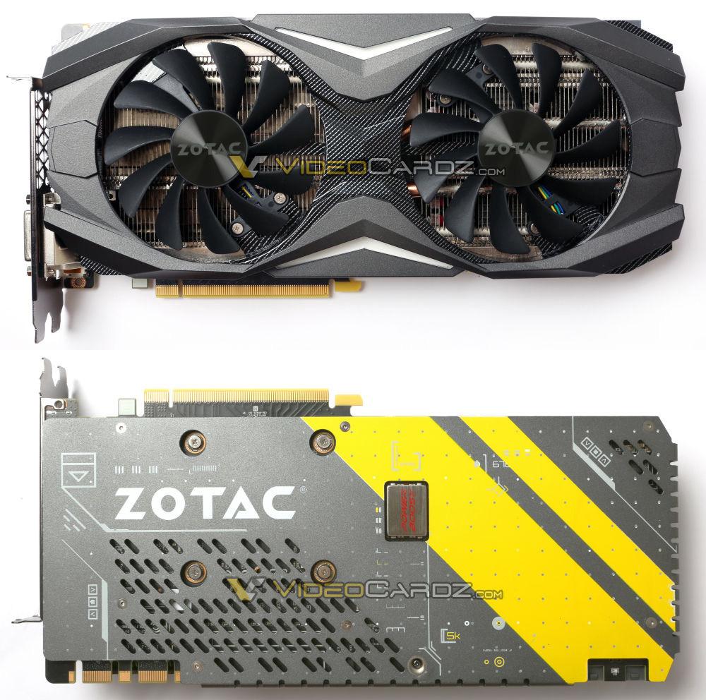 Zotac GTX 1080 2