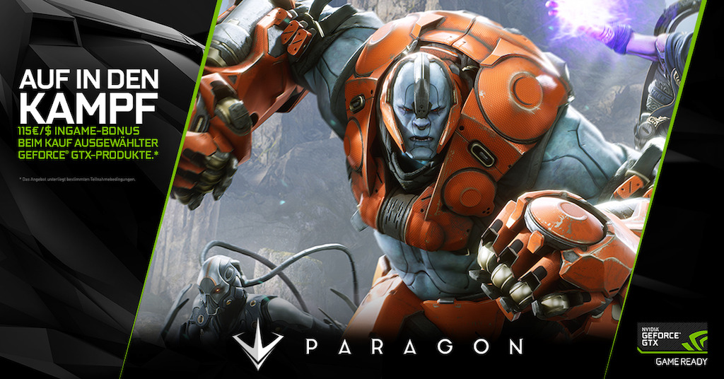 Nvidia Bundle Geforce Und Paragon In Einem Paket Hardwareinside