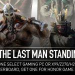 Kostenloser »For Honor«-Game Key beim Kauf ausgewählter MSI Motherboards und Gaming PCs