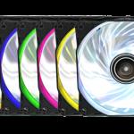 Der neue Antec Rainbow 120 Gehäuselüfter bringt Farbe ins Spiel