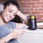 Bluetooth-Lautsprecher HEX LIGHT von 808audio vereint Spitzensound und Lichtshow