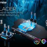 Brandneu bei Caseking: Phanteks Glacier High-End-Wasserkühler mit RGB-LED-Beleuchtung für CPU und GPU