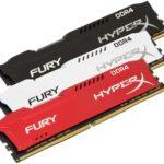 HyperX erweitert die HyperX FURY DDR4-Speicher–Produktlinie