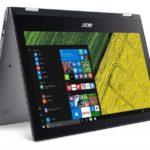 Acer Spin 1: Neuauflage mit schlankem Alu-Unibody-Design