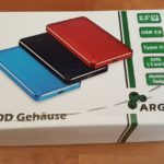 Inter-Tech Argus HDD Case GD-25609 im Test