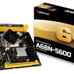 BIOSTAR kündigt A68N-5600 SoC Motherboard für SFF und HTPCs an
