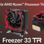 Freezer 33 TR - Neuer Threadripper Kühler von ARCTIC