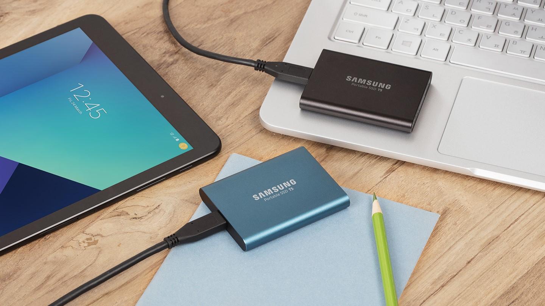 samsung bringt neue portable ssd t5 auf den markt hardwareinside. Black Bedroom Furniture Sets. Home Design Ideas