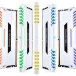 CORSAIR bringt VENGEANCE RGB White DDR4 auf den Markt