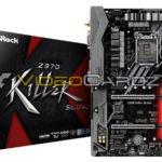 ASRock Intel Z370 Chipsatz Mainboards abgelichtet
