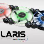 In Win stellt die Gehäuselüfter der Polaris-Serie vor
