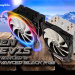 Die Advanced Edition des Alpenföhn Ben Nevis Allround-Kühlers in der Black RGB Version mit LED-Lüfter