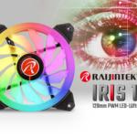 JETZT bei Caseking – Farbenpracht pur: Die neue Raijintek IRIS 12 LED-Lüfter-Serie