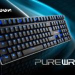 Beleuchtete mechanische Low-Profile-Tastatur mit Numpad - EVK 79,90 Euro