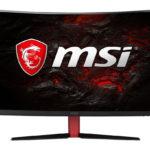 MSI stellt Optix AG32C 32-Zoll Curved Monitor vor