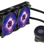 Cooler Master All-In-One-Wasserkühlung jetzt mit RGB-Pumpe, Lüfter, Controller und Splitter
