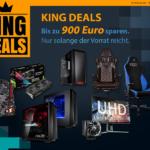 NUR bei Caseking – Die KING DEALS 2017 mit massig Sonderangeboten und bis zu 900 Euro Rabatt!