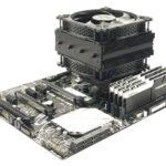 Jonsbo veröffentlicht CR-301 RGB Top-Flow CPU Kühler