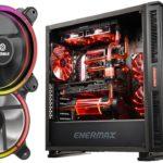 Neues Silent-Show-Case und RGB-Lüfter von Enermax