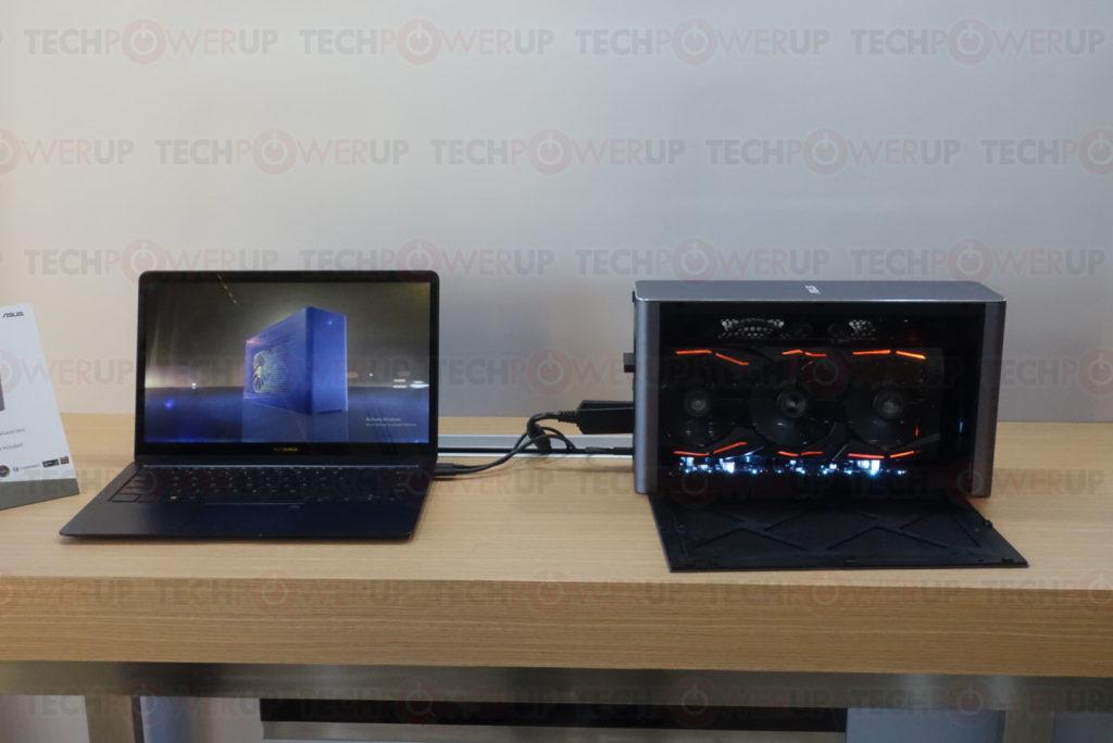asus stellt das externe gpu geh use xg station pro vor hardwareinside. Black Bedroom Furniture Sets. Home Design Ideas