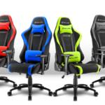 Gaming Seat mit atmungsaktivem Stoffbezug - EVK 179 Euro