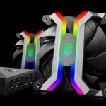 Deepcool bringt MF 120 Aluminum Frameless Smart RGB Lüfterset auf den Markt