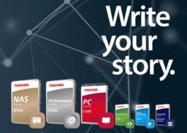 Toshiba präsentiert neue Modellvarianten der N300-, X300- und L200-HDDs mit größerer Speicherkapazität