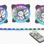 Inter-Tech Argus LED-Fan-Set RS-03 RGB im Test