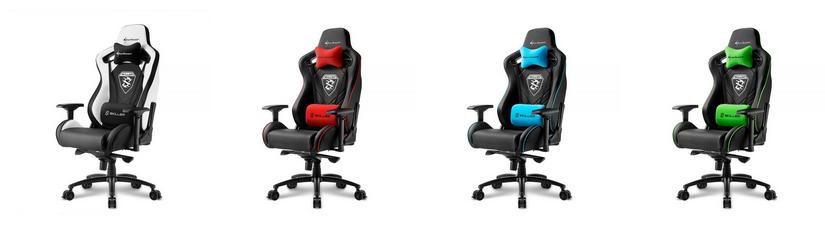 sharkoon skiller sgs4 gaming seat mit umfangreichem. Black Bedroom Furniture Sets. Home Design Ideas