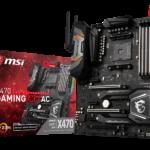 MSI präsentiert AM4 X470 GAMING Mainboards für neue AMD Prozessoren