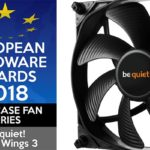 European Hardware Awards 2018: Auszeichnung für be quiet! Silent Wings 3