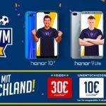 HonorWM 2018: Gewinne mit Honor und Deutschland großartige Preise