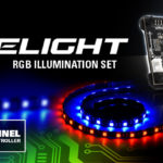 8-Kanal RGB-LED-Controller inklusive Lüfter und Strips - EVK 69,90 Euro