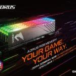GIGABYTE erhellt den DRAM-Markt mit den AORUS RGB Speichern