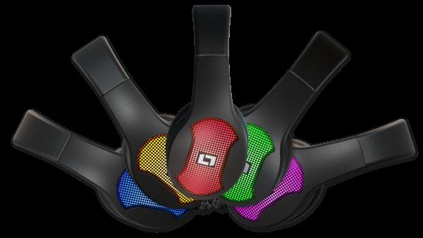 lioncast lx30 headset 7 1 surround sound und rgb f r. Black Bedroom Furniture Sets. Home Design Ideas
