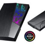 ASUS kündigt externe FXD-Festplatten mit Aura Sync RGB-Funktionen an