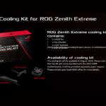 ASUS gibt kühlende Zusatz-Ausrüstungen für seine Sockel TR4 Motherboards raus