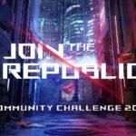 ASUS geht mit der ROG Join the Republic Community Challenge 2018 in die nächste Runde