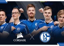 CORSAIR ab sofort offizieller Partner des FC Schalke 04 Esports