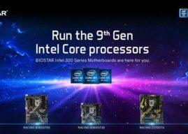 BIOSTAR Motherboards der Intel 300 Serie unterstützen Intel Core Prozessoren der 9. Generation