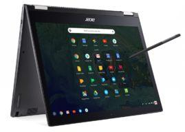 Acer Premium-Chromebooks für den professionellen Einsatz ab sofort verfügbar