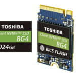 Toshiba Memory kündigt Single-Package PCIe SSDs mit 96-Layer-3D-Flashspeicher und 1TB Speicher an