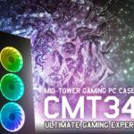 FSP stellt den neuen CMT340 RGB PC-Gaming-Tower mit Temperglas vor