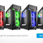 Sharkoon VG6-W: ATX-Midi-Tower für preisbewusste Gamer