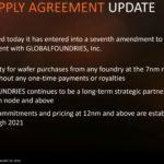 """AMD aktualisiert Wafer Supply Agreement mit GlobalFoundries, um sich von """"7nm Tax"""" zu befreien"""