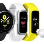 Vier neue Samsung Wearables unterstützen einen ausgeglichenen und vernetzten Lebensstil