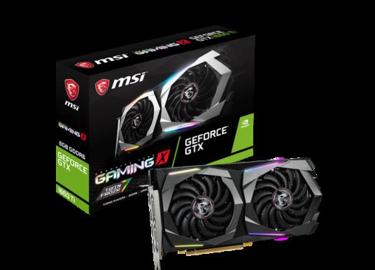 MSI kündigt Grafikkarten mit GeForce GTX 1660 Ti-GPU an