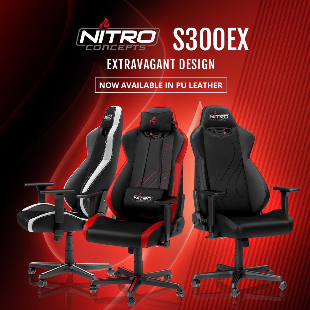 Der Mit Stuhl Nitro Kunstleder Und Concepts Gaming S300 ExJetzt vwO8Nn0ym