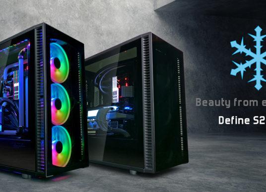 Fractal Design präsentiert das neue Define S2 Vision und die Dynamic X2 PWM Black Lüfter