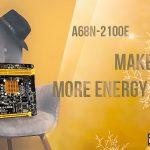 BIOSTAR präsentiert das energieeffiziente und kompakte A68N-2100E für Privatanwender und Unternehmen